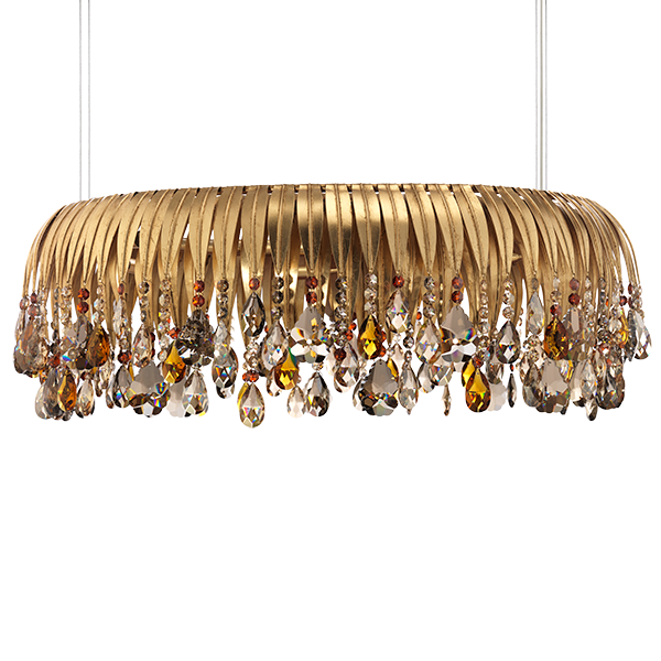 CHANDELIERS chandelier with crystals, Lucienne Monique ...