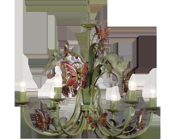 LAMPADARI lampadario con farfalle, Lucienne Monique ...